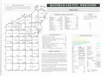 Index Map, Bayfield County 1994